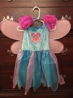 Size 3-4T Abby Caddaby costume