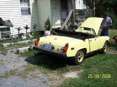 $3,000 1978 MG Midgit Convertible (Morgantown)