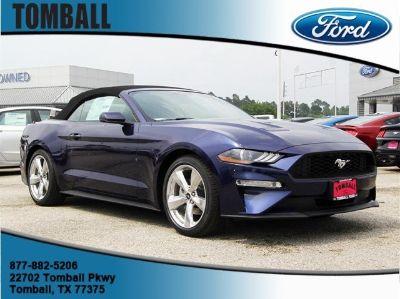 2019 Ford Mustang EcoBoost Premium (Kona Blue)