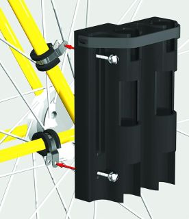 $36.95, Bikefisherman, fishing rod mounting system for bicycles, safely carries 2 fishing rods