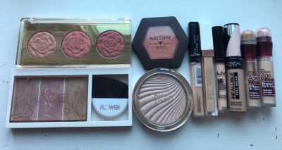 Highlighter, Blush, Concealer Lot