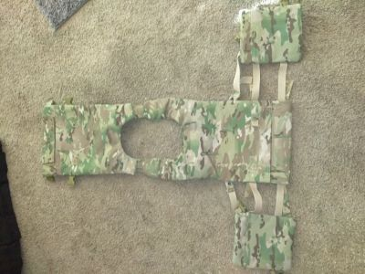 Multicam plate carrier quick release