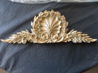 French Shell Architectural Wall Hanging