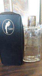 Antique liquor bottle