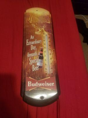 Budweiser Temp Gauge