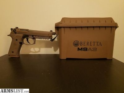 For Sale: Beretta M9 A3 kit w/extra mags