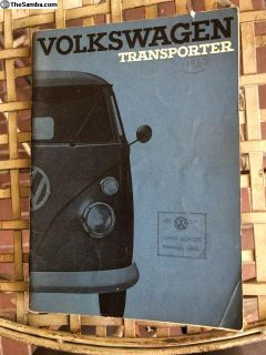 NOS 11-63 Bus owners manual