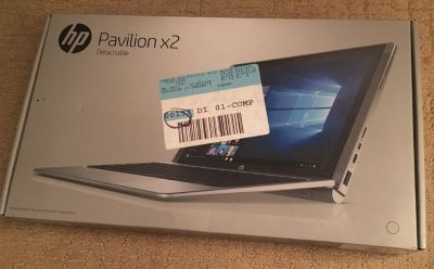 Brand new HP Pavilion x2 detachable and 1 yr Office 360.