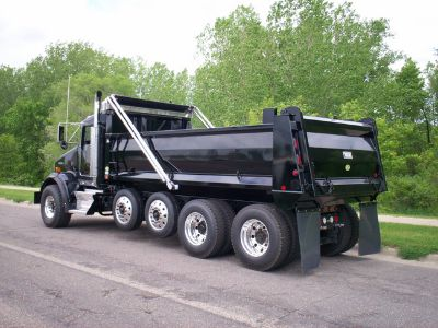 Dump truck funding without perfect credit