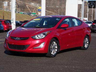 2015 Hyundai Elantra GLS (red)