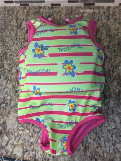 Girls floating swim suit