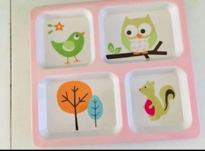 Kids Plastic Divided Plate from target
