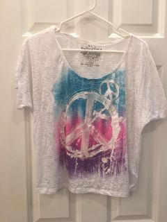 Rocker Girl Sparkly Top! Great Condition! SZ 11/13 LG