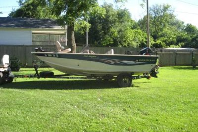 2005 Smoker Craft 171 Proangler