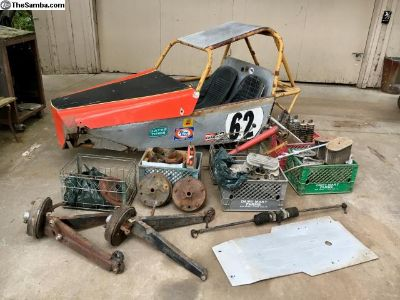 Late 1960s Funco Wampuskitty Off Road Race Car