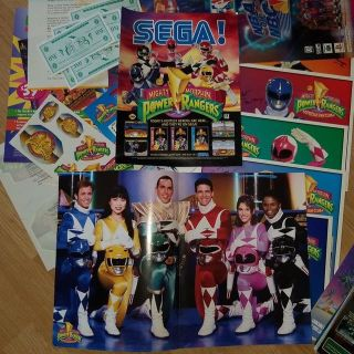 1994 power rangers fan club box