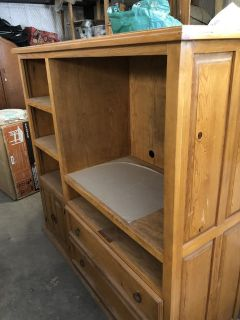 Cabinet, solid wood