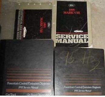 Sell 1995 LINCOLN MARK VIII 8 V III Service Shop Repair Manual Set FACTORY 95 BOOKS motorcycle in Sterling Heights, Michigan, United States, for US $259.95