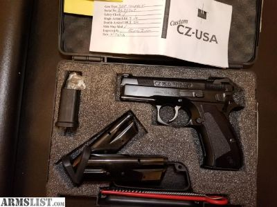 For Sale: CZ 75 SDP Compact from Custom CZ-USA