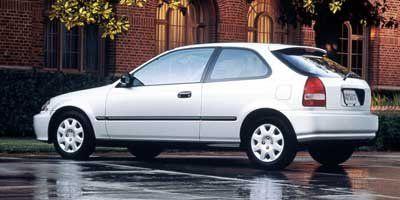 1999 Honda Civic CX (Red)