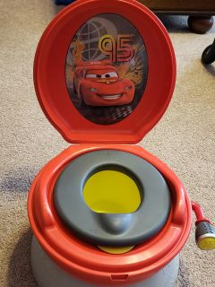 Potty chair: Lightning McQueen first years 3-in-1