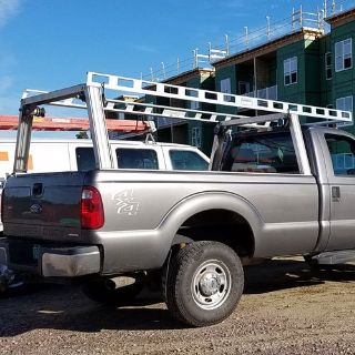 System One I.T.S. Contractor Rig Pickup Truck Ladder/Work Winch set