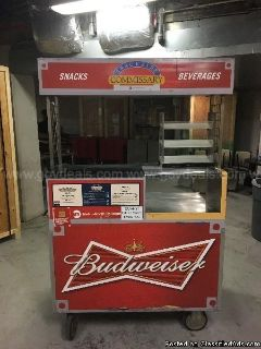 Rolling Beverage / Snack Cart