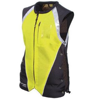 Purchase Womens Ladies Joe Rocket Yellow Military Spec Vest Xs Sm Md motorcycle in Ashton, Illinois, US, for US $49.49