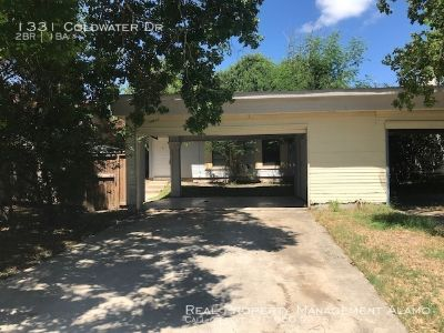 MOVE IN READY!! Two Bedroom Home with Fenced Yard, Covered Carport, and MORE!!