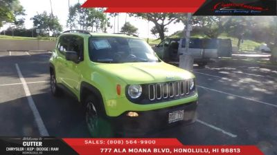 2018 Jeep Renegade (Hypergreen Clearcoat)