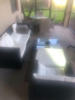 Free wicker patio furniture