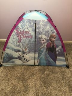 Elsa & Anna FROZEN sleeping bag and tent