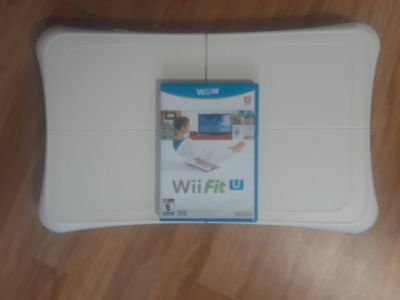 Wii Fit U game and board. Pair for $25. Barely used condition! Cross posted.