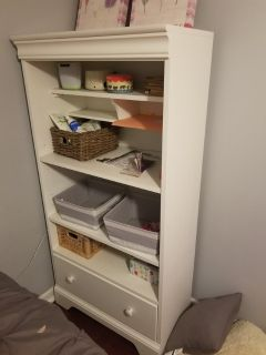 shelves and drawer