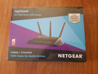 REDUCED:BRAND NEW SEALED Nighthawk AC 1900 Router