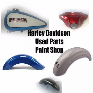 Purchase Used Harley Davidson gas fuel tank fenders flstsc Springer Softail motorcycle in Roy, Utah, United States, for US $1,300.00