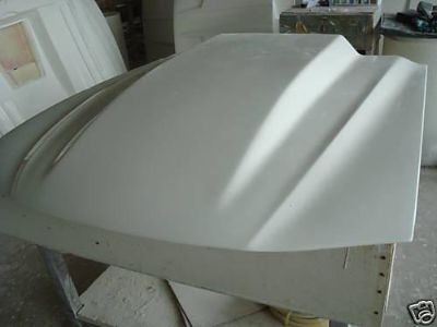 "Purchase Fiberglass 4"" Cowl Bolt-on Mustang Hood 94-04 motorcycle in Cincinnati, Ohio, US, for US $159.00"