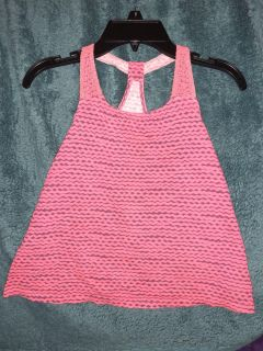 Lace tank active top