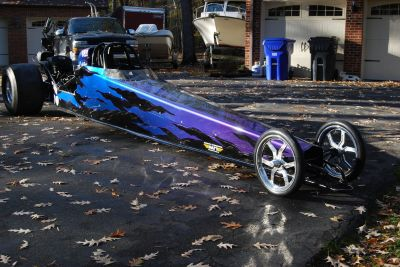2008 American dragster