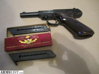 For Sale: 1960'S HI STANDARD DURA-MATIC M-101 22 SEMI AUTO HAND GUN