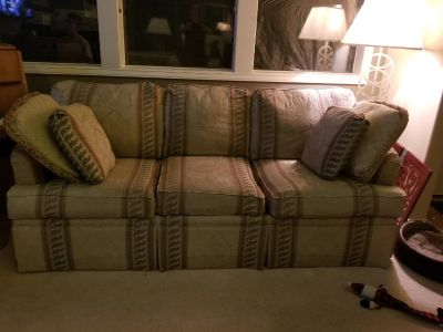 Maatching Loveseat and couch from Schoenfelds