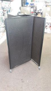4 Sided Stand Alone Pinboard Rack