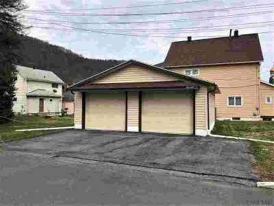 0 Maple Avenue Johnstown, Vinyl sided 2 car garage with