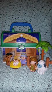 Little people Nativity Set Carrying Case