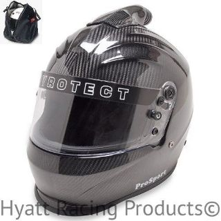 Buy Pyrotect ProSport Top Forced Air Auto Racing Helmet SA2015 - Carbon Fiber motorcycle in Bend, Oregon, United States, for US $649.00