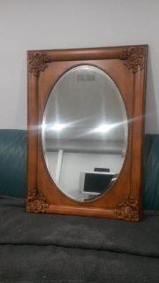 Mirror, Cherry Wood Finish