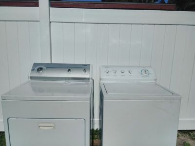 NEWEST KENMORE 800 WASHER AND DRYER WRINKLE AND MOISTURE FREE
