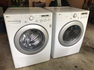 Used LG Washer and Dryer