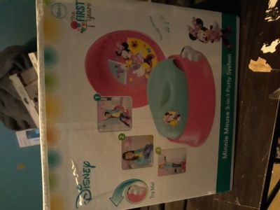Disney 3 in 1 minnie mouse potty