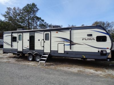 2019 Palomino PUMA 31FKRK FRONT KITCHEN REAR KING BED (BEIGE)